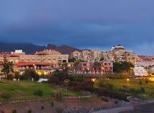 Παραλία Tenerife στο νησί - καναρίνι Στοκ Εικόνες
