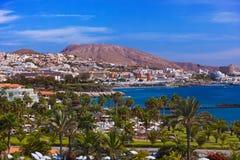 Παραλία Tenerife στο νησί - καναρίνι Στοκ εικόνες με δικαίωμα ελεύθερης χρήσης