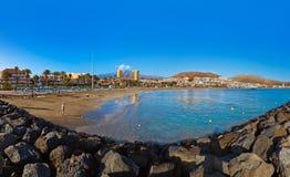 Παραλία Tenerife στο νησί - καναρίνι Στοκ Εικόνα