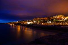 Παραλία Tenerife στο νησί - καναρίνι Στοκ Φωτογραφίες