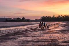 Παραλία Thara Nopparat, Aonang, Ταϊλάνδη Στοκ Εικόνες