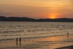 Παραλία Thara Nopparat, Aonang, Ταϊλάνδη Στοκ Φωτογραφίες
