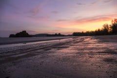 Παραλία Thara Nopparat, Aonang, Ταϊλάνδη Στοκ φωτογραφία με δικαίωμα ελεύθερης χρήσης