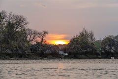 Παραλία Thara Nopparat, Aonang, Ταϊλάνδη Στοκ εικόνες με δικαίωμα ελεύθερης χρήσης