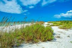 Παραλία Tigertail στο νησί του Marco στοκ φωτογραφίες