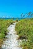 Παραλία Tigertail στο νησί του Marco στοκ εικόνες