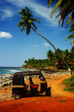 Παραλία Tuk-tuk στοκ εικόνες