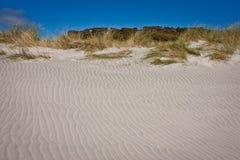 Παραλία Wharariki στον αποχαιρετιστήριο οβελό στη Νέα Ζηλανδία Στοκ Εικόνες