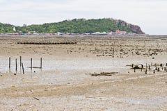 Παραλίες, δύσκολες περιοχές και θάλασσα. Στοκ Εικόνες
