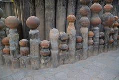Παραλλαγές, αγγειοπλαστική, ο κήπος βράχου, Chandigarh στοκ φωτογραφία με δικαίωμα ελεύθερης χρήσης