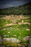 Παραμένει ενός προηγούμενου πολιτισμού σε Pamukkale στοκ φωτογραφίες