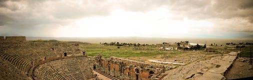 Παραμένει ενός προηγούμενου πολιτισμού σε Pamukkale στοκ εικόνα
