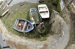 Παραμελημένες βάρκες Στοκ Εικόνα