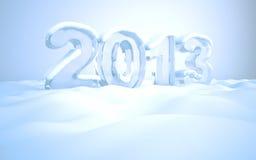 Παραμονή Πρωτοχρονιάς 2013 Στοκ Φωτογραφία