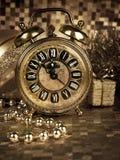 Παραμονή Πρωτοχρονιάς στοκ εικόνες με δικαίωμα ελεύθερης χρήσης