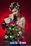 Παραμονή Χριστουγέννων στοκ εικόνες με δικαίωμα ελεύθερης χρήσης