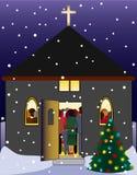 Παραμονή Χριστουγέννων Στοκ Φωτογραφίες