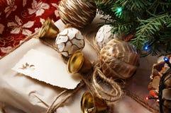 Παραμονή Χριστουγέννων. Στοκ εικόνες με δικαίωμα ελεύθερης χρήσης