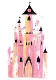 παραμύθι κάστρων Στοκ εικόνα με δικαίωμα ελεύθερης χρήσης