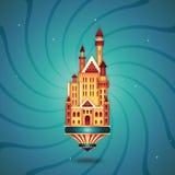 παραμύθι κάστρων Στοκ Φωτογραφίες