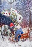 Παραμύθι Χριστουγέννων Στοκ Φωτογραφίες