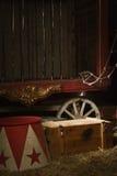 Παρασκήνια τσίρκων Στοκ Φωτογραφίες