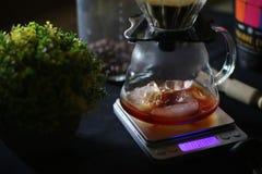 Παρασκευάζοντας τον καφέ σας σήμερα στοκ εικόνες με δικαίωμα ελεύθερης χρήσης