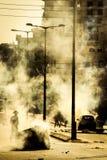 Παρασκευή Demonstraion στη Βηθλεέμ Στοκ Εικόνες