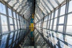 παρατήρηση Σαγγάη γεφυρών sw Στοκ Φωτογραφίες