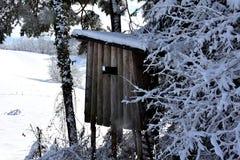 Παρατηρητήριο κυνηγιού Στοκ φωτογραφία με δικαίωμα ελεύθερης χρήσης