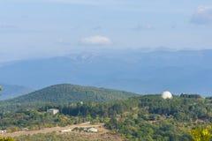 Παρατηρητήριο στα βουνά Στοκ Φωτογραφίες