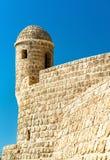 Παρατηρητήριο στο οχυρό του Μπαχρέιν Μια περιοχή παγκόσμιων κληρονομιών της ΟΥΝΕΣΚΟ Στοκ φωτογραφία με δικαίωμα ελεύθερης χρήσης