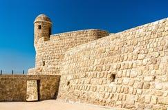 Παρατηρητήριο στο οχυρό του Μπαχρέιν Μια περιοχή παγκόσμιων κληρονομιών της ΟΥΝΕΣΚΟ Στοκ εικόνες με δικαίωμα ελεύθερης χρήσης
