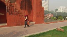 Παρατηρητήριο Mantar Jantar - Ινδία απόθεμα βίντεο