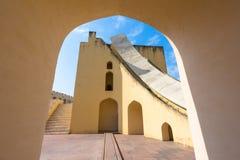 Παρατηρητήριο Mantar Jantar, Jaipur, Ινδία Στοκ εικόνα με δικαίωμα ελεύθερης χρήσης