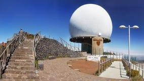 Παρατηρητήριο, Pico do Arieiro, Μαδέρα, Πορτογαλία Στοκ φωτογραφία με δικαίωμα ελεύθερης χρήσης