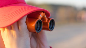 Παρατηρητής σε μια ΚΑΠ Στοκ Φωτογραφίες