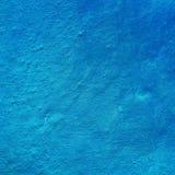 Παρατυπίες του τεμαχίου του τοίχου, μπλε χρώμα Στοκ φωτογραφίες με δικαίωμα ελεύθερης χρήσης