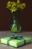 Παραχωρήσώντας κρίνος daffodil Στοκ φωτογραφίες με δικαίωμα ελεύθερης χρήσης