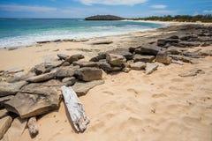 Παραλία άμμου παραδείσου στη Μαδαγασκάρη, Antsiranana, Diego Suarez Στοκ εικόνες με δικαίωμα ελεύθερης χρήσης