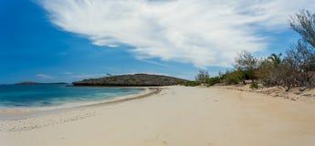 Παραλία άμμου παραδείσου στη Μαδαγασκάρη, Antsiranana, Diego Suarez Στοκ φωτογραφία με δικαίωμα ελεύθερης χρήσης