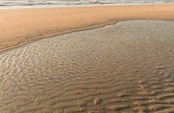 Παραλία άμμου Στοκ εικόνα με δικαίωμα ελεύθερης χρήσης