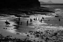 παραλία λίγα Στοκ εικόνες με δικαίωμα ελεύθερης χρήσης