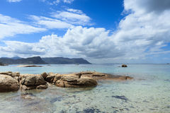 Παραλία λίθων - Καίηπ Τάουν Στοκ φωτογραφία με δικαίωμα ελεύθερης χρήσης
