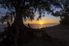 Παραλία Αγίου Gilles, νησί συγκέντρωσης Λα, Γαλλία στοκ φωτογραφίες