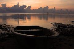 Παραλία ανατολής τοπίων θάλασσας Στοκ εικόνα με δικαίωμα ελεύθερης χρήσης