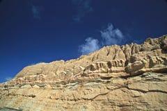 Παραλία απότομων βράχων του Σαν Ντιέγκο πεύκων Torrey Στοκ εικόνες με δικαίωμα ελεύθερης χρήσης