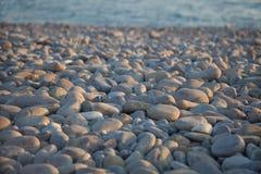 Παραλία βοτσάλων Στοκ φωτογραφία με δικαίωμα ελεύθερης χρήσης