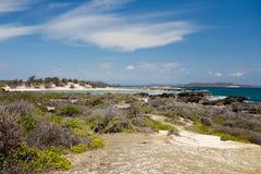 Παραλία βράχου παραδείσου στη Μαδαγασκάρη, Antsiranana, Diego Suarez Στοκ φωτογραφία με δικαίωμα ελεύθερης χρήσης