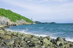 Παραλία βράχου Στοκ Φωτογραφίες